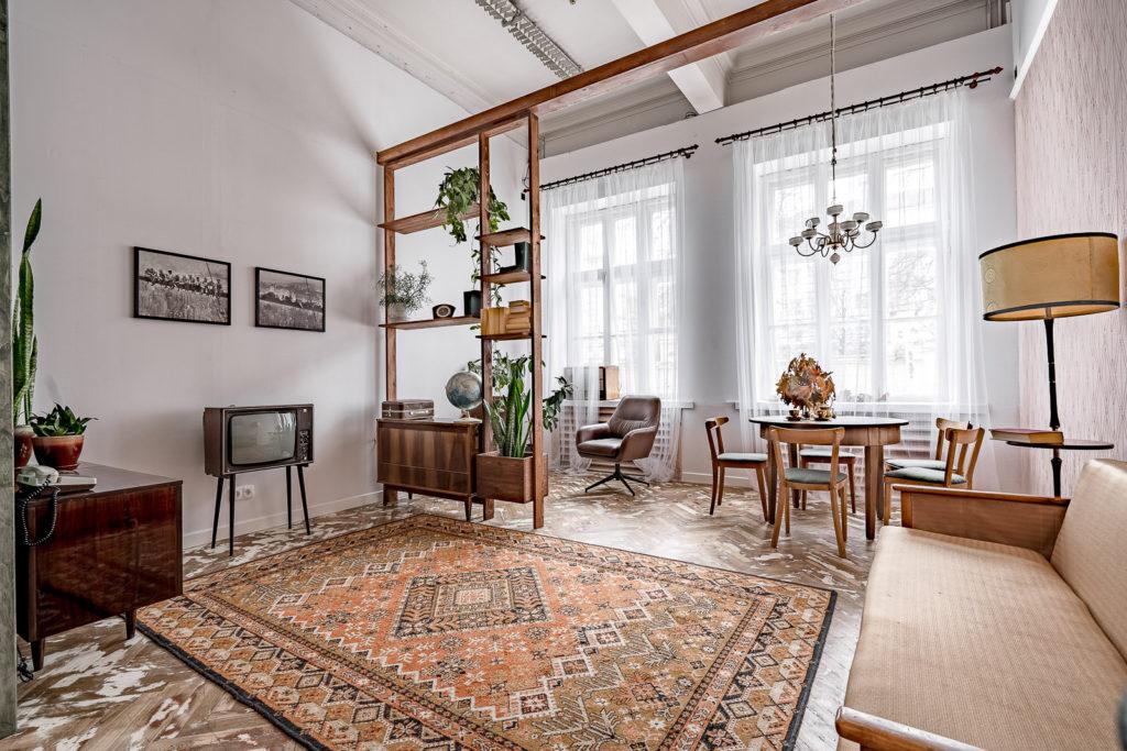 Интерьерный зал Ретро, аренда фотостудии в Минске