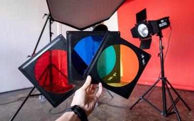 Используйте цветные фильтры!